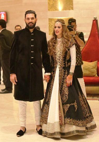 Yuvraj Singh & Hazel Keech sangeet cum cocktail