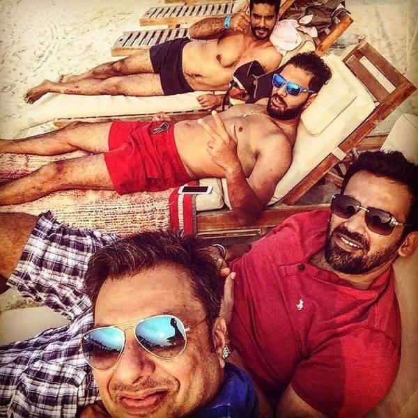 Yuvraj Singh Bachelor Party