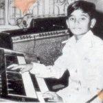 A. R. Rahman childhood photo