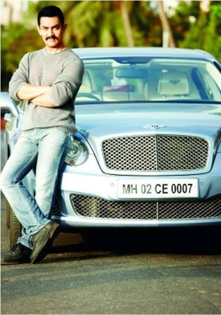 Aamir Khan Car Bentley