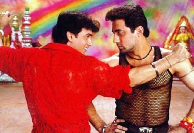 Aamir-Khan-with-brother-Faisal-Khan-in-Mela