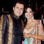 Abhinav Kohli with Shweta Tiwari