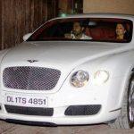 Abhishek Bachchan Bentley Continental GT