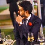 Abhishek Bachchan Drinking Alcohol