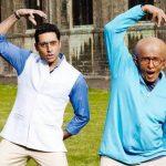 Abhishek Bachchan and Amitabh Bachchan in Paa