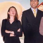 Abhishek Bachchan with Karisma Kapoor