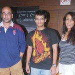Achint Kaur with her son & Mohan Kapoor