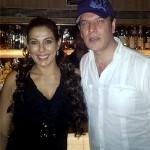Aditya Pancholi with Pooja Bedi