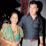 Aditya Pancholi with his wife