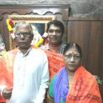 Aditya Srivastava with his parents