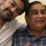 Adnan Sami with his father