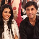Adnan Siddiqui with his wife