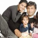 Adnan Siddiqui with his wife and childern