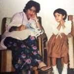 aindrita-ray-childhood-with-her-mother