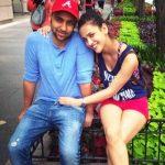 Aisha Sharma with her sister brother