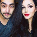 AIsha With Her Husband Shahbaz Shigri