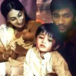 aishwarya-r-dhanush-with-her-husband-and-children