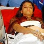 Aishwarya Rai accident in 2003 during the making of Khakee