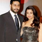 Aishwarya Rai with her husband Abhishek Bachchan
