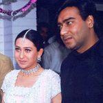 Ajay Devgan With His Ex-Girlfriend Karisma Kapoor