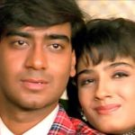 Raveena Tandon with Ajay Devgan