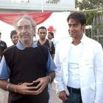 Ajay Devgn With His Father