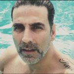 Akshay Kumar Tattoo On Left Shoulder