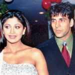 Akshay Kumar With His Ex-Girlfriend Shilpa Shetty