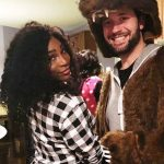 Alexis Ohanian with Serena Williams