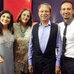 Ali Kazmi with his family