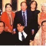 Ali Zafar with his family