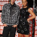Alicia Keys With her brother Cole Craig
