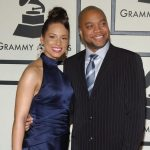 Alicia Keys with Kerry Brothers Junior