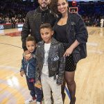 Alicia Keys with her husband & sons