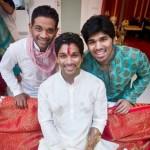 Allu Sirish with his brothers