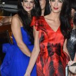 Amal with her sister Tala