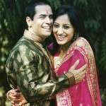 Aman Verma with Vandana Lalwani