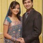 Ami Trivedi with her Husband Neeraj Sanghai