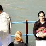 Amitabh Bachchan with his brother Ajitabh Bachchan