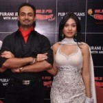 Amrita Rao with RJ Anmol