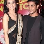 Amy Jakson with her Ex-boyfriend Prateik Babbar