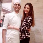 Amyra Dastur with her brother
