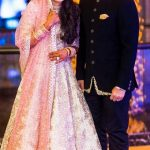 Anam Mirza with her husband