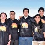 Anant Ambani with his family