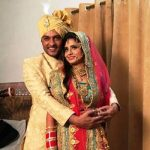 Anas Rashid - Heena Iqbal marriage photo