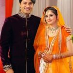 Heena Iqbal with her husband Anas Rashid