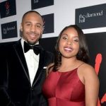 Andre ward with his wife Tiffiney Ward