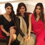 Aneesha Joshi with her mother and sister