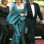 Angela Merkel with her husband Joachim Sauer