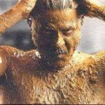 Anil Kapoor In Mud Scene In Nayak
